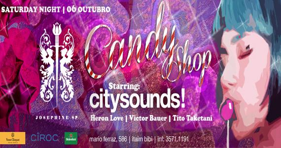 Festa Candy Shop anima o público da Josephine SP no sábado Eventos BaresSP 570x300 imagem